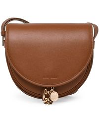 See By Chloé Mara Saddle Shoulder Bag - Brown