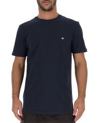 Dior Homme Bee Embroidered T-shirt - Blue