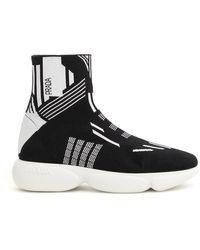 Prada Cloudbust Sock Sneakers - Black