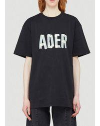 ADER error Logo T-shirt - Black