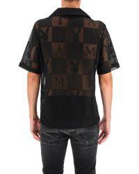 Amiri Playboy Logo Shirt - Black