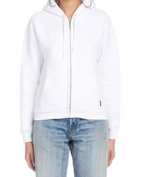 Balenciaga I Love Techno Zipped Jumper - White