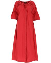 Weekend by Maxmara Ombrato Dress - Red