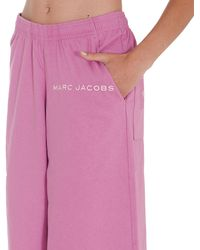 Marc Jacobs Logo Embroidered Shorts - Pink