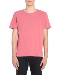 51ec3e7203d24 Men's Saint Laurent T-shirts - Lyst
