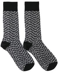 Givenchy Refracted Socks - Black