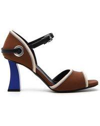 Marni - Colour Block Neoprene Sandals - Lyst