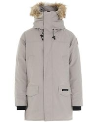 Canada Goose Langford Parka Coat - Natural