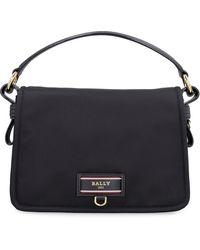 Bally Ekyra Nylon And Leather Bag - Black