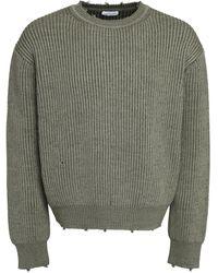 John Elliott - Hem Openwork Rib-knit Sweater - Lyst