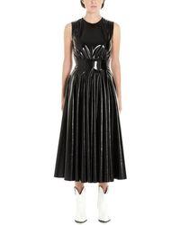 MSGM Polyester Dress - Black