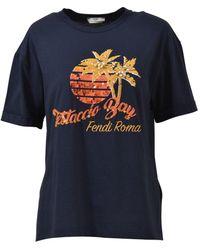 Fendi - Roma T-shirt - Lyst