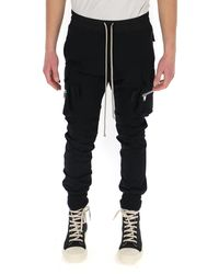Rick Owens Mastodon Cargo Pants - Black