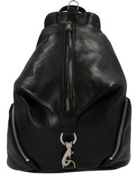 Rebecca Minkoff Clip-detailed Julian Backpack - Black
