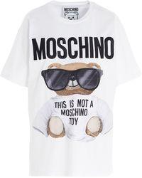 Moschino Teddy Bear-print T-shirt - White