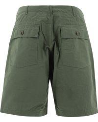 """Engineered Garments """"fatigue"""" Bermuda - Green"""