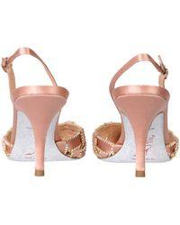 Rene Caovilla René Caovilla Juliette Slingback Court Shoes - Natural