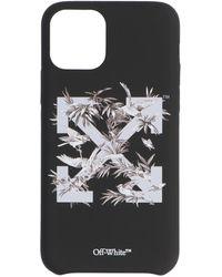 Off-White c/o Virgil Abloh Birds Iphone 11 Pro Cover - Black