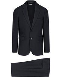 Saint Laurent Slim-cut Tailored Suit - Black