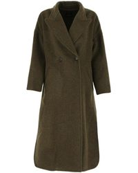 Isabel Marant Elliot Oversize Coat - Green