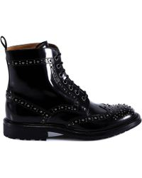 Church's - Studded Ankle Boots - Lyst
