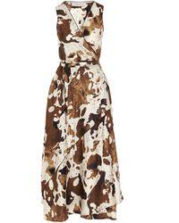 Golden Goose Silk Dress - Brown