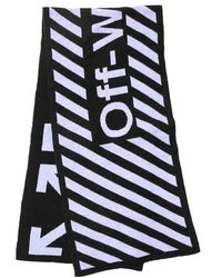 Off-White c/o Virgil Abloh Arrows Logo Scarf - Black