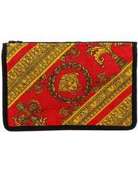 Versace Baroque Printed Wash Bag - Multicolour