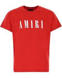 Amiri Core Logo Print T-shirt - Red