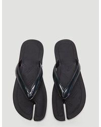 Maison Margiela Tabi Thong Sandals - Black