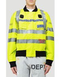 GALLERY DEPT. Uniform Bomber Jacket - Yellow