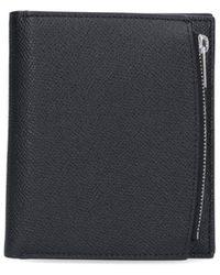 Maison Margiela Four-stitch Compact Wallet - Black