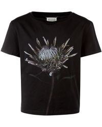 Maison Margiela Printed T-shirt - Black