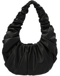 Nanushka Anja Baguette Shoulder Bag - Black