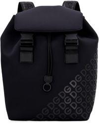 Dolce & Gabbana - Millennials Logo Backpack - Lyst