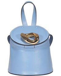 JW Anderson Lid Bucket Bag - Blue