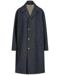Marni Oversized Button-down Coat - Gray