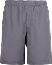 The North Face Logo Print Swim Shorts - Grey