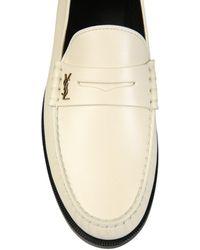 Saint Laurent Saint Laurent Men's 63047418rtt1906 White Other Materials Loafers
