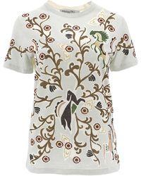 Dior Printed Crewneck T-shirt - Multicolour