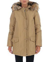 Woolrich Arctic Parka Coat - Natural