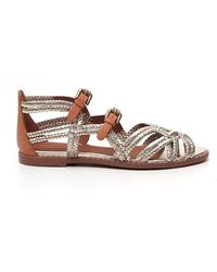 See By Chloé Buckled Sandals - Metallic