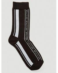1017 ALYX 9SM Vertical Stripe Socks - Black