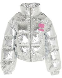 Chiara Ferragni 20aicfd019 Outerwear Jacket - Metallic