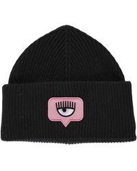 Chiara Ferragni Hats Black