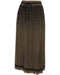 Gucci Black Long Skirt
