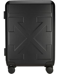 Off-White c/o Virgil Abloh Arrow Trolley Suitcase - Black