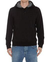 Ferragamo Logo Lining Hoodie - Black