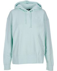 Nike Sportswear Logo Embroidered Hoodie - Green