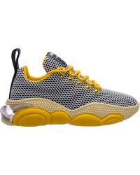 Moschino Bubble Teddy Sneakers - Yellow